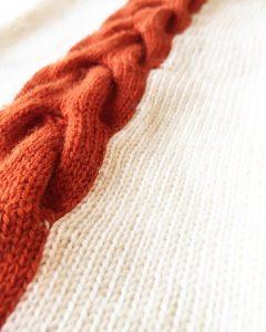 Rachel Wells Knitwear close up