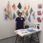 Textiles student selected for place at Paris show