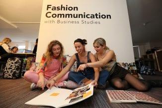 Fashion Communication students