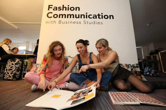 Fashion Communication students