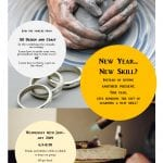 Join 3D students for a ceramics workshop