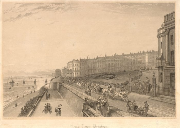 Image of Kemptown in 1838