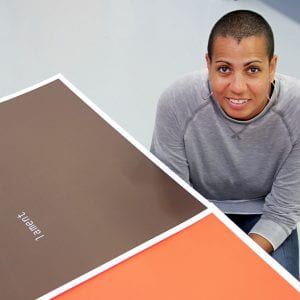 Brighton graduate Helen Cammock is (one of four!) Turner Prize winners