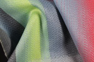 multicoloured cloth