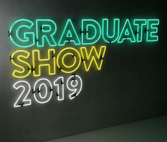 graduate show 2019 branding