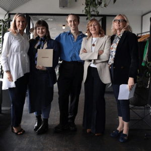 British Fashion Council award for student Andy Froud