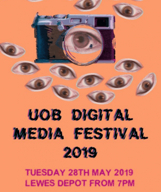 UOB digital film festival poster