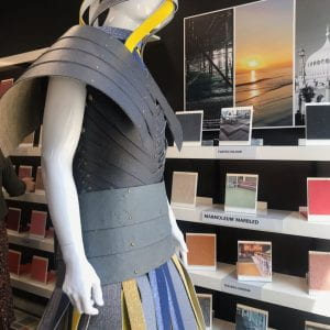Fashion students' collab on show at Clerkenwell Design Week
