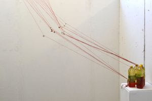 Image of suspended string