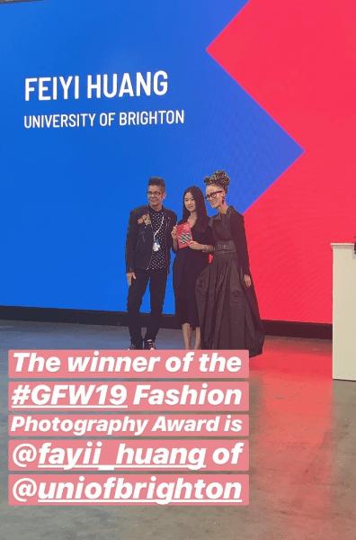 Fay Huang prize winning image