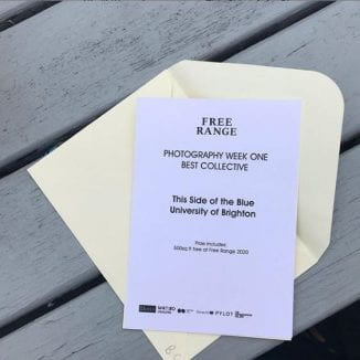 free range 2019 Brighton Photography Graduates Award Winner