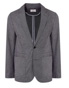 Hannah Gibbins grey jacket