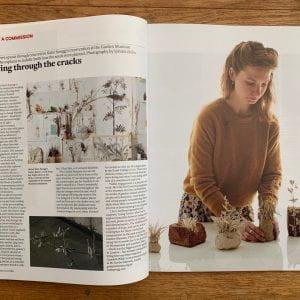 Magazine spread for 3D grads
