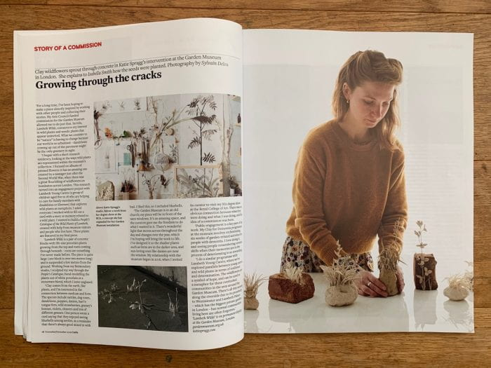 katie spragg in crafts magazine