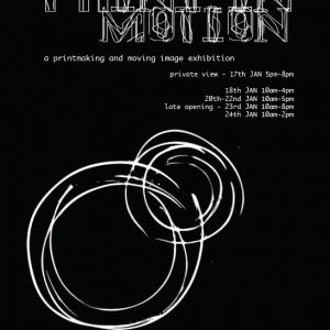 Print in Motion exhibition