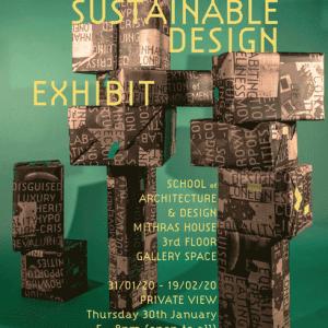 Sustainable Design MA  exhibition