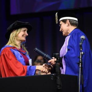 Children's Laureate Cressida receives Honorary Doctorate