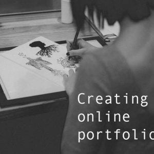 Been asked to create an online portfolio?