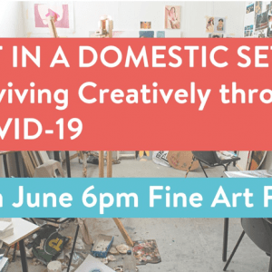 Art in a Domestic Setting: Fine Art Painting