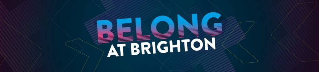 belong at brighton banner