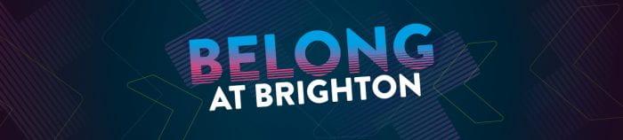 belong at brighton banner