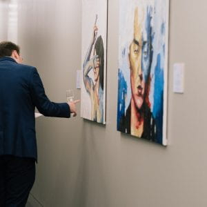 Brighton art graduates given opportunity for work to go under the hammer