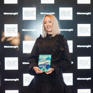 """This means an incredible amount"" – Brighton graduate wins fashion award"