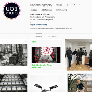 Our Photography degrees are now on Instagram!