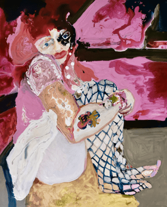 Rhiannon Salisbury, Little Miss Pinky, 2019. Image courtesy of Delphian Gallery