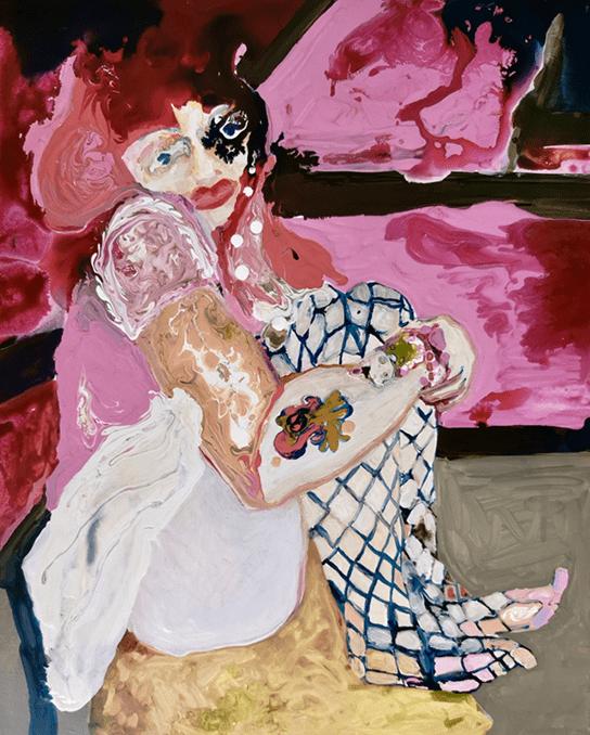 Rhiannon Salisbury, Little Miss Pinky, 2019. Image courtesy of Delphian Gallery