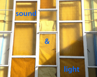 sounds and light poster