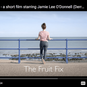 Lecturer Philip Connolly releases short film Fruit Fix starring Derry Girls' Jamie Lee O'Donnell