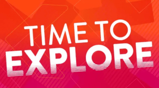 time to explore graphic