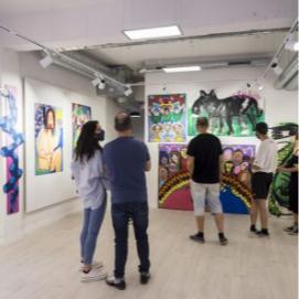 Photography and textile graduates create Spanish art academy