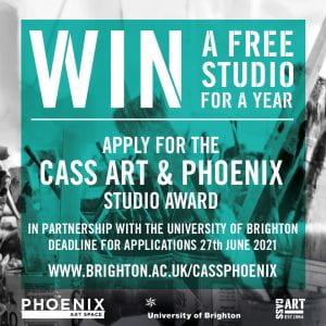 Cass Art x Phoenix Studio Award 2021