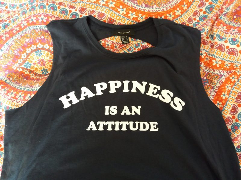 Atmosphere Happiness is an attitude vest