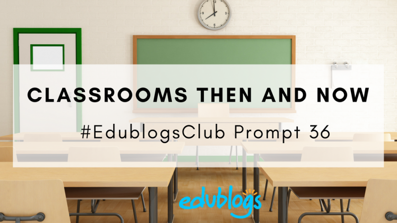 #EdublogsClub prompt card