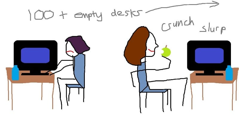 Life in the library
