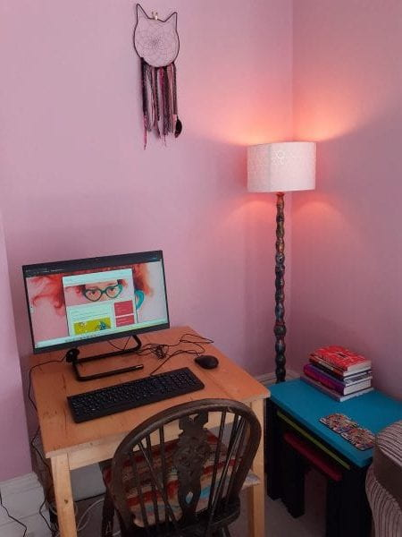 My workspace at home