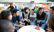 photo of international students