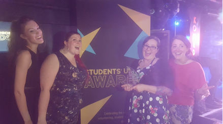 Brighton Student Union Awards Midwifery Society Photo