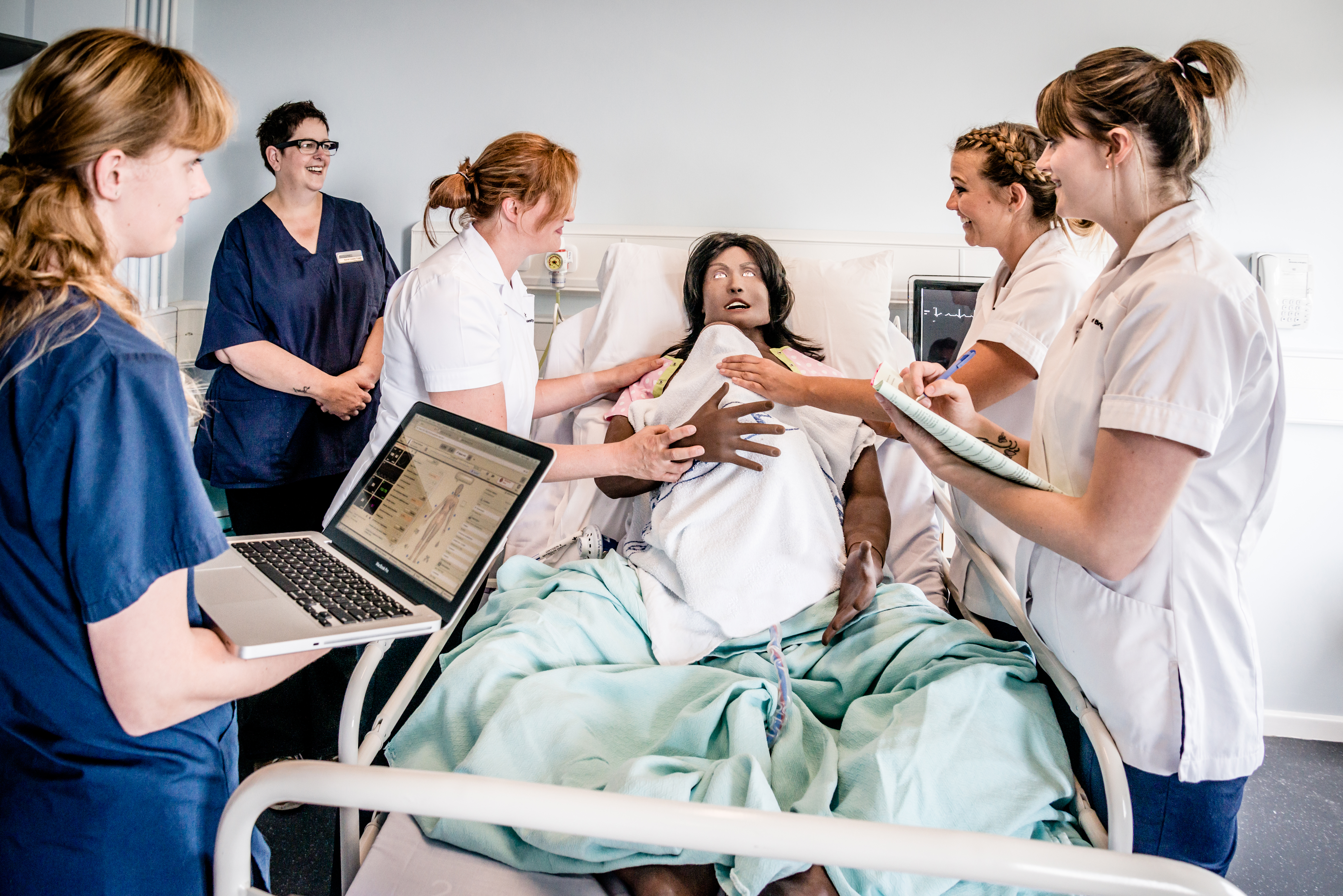 Lucina birthing simulator mannequin