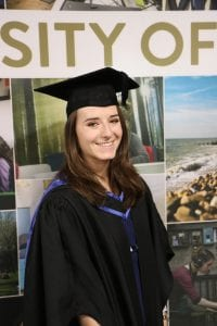Amy Beaumont, Podiatry BSc graduate 2018