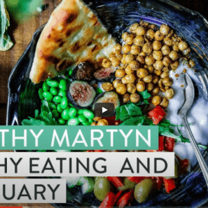 Podcast: Dr Kathy Martyn on healthy eating and Veganuary