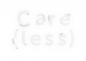 Text reads Care (less)