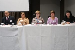 co-researchers in panel discussion