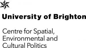 Logo for the University of Brighton Centre for Spatial, Environmental and Cultural Politics