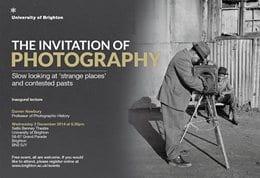 Darren Newbury inaugural lecture poster