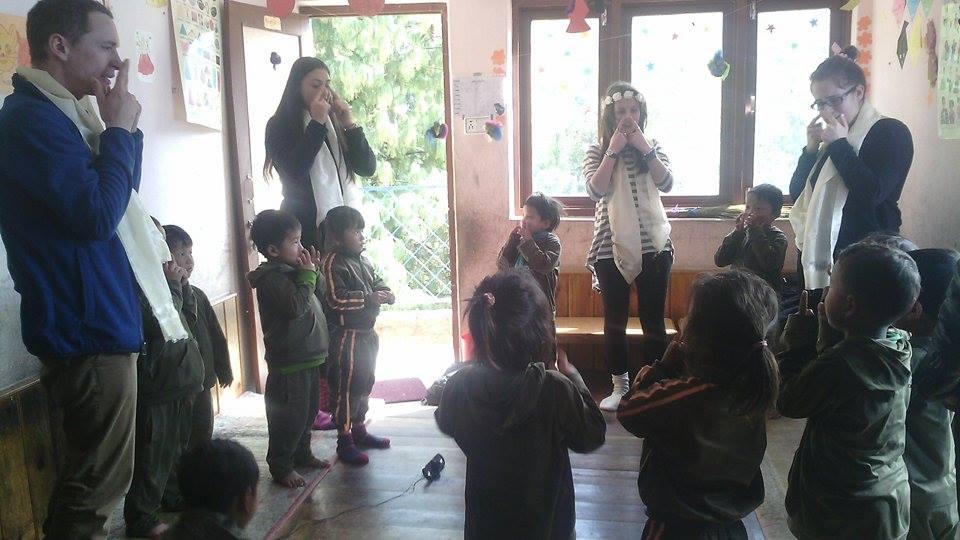 Malagiri and students 4