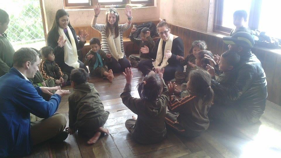 Malagiri and students 7